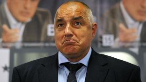 El primer ministro búlgaro, Boiko Borisov.