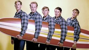 Los Beach Boys, en 1962.