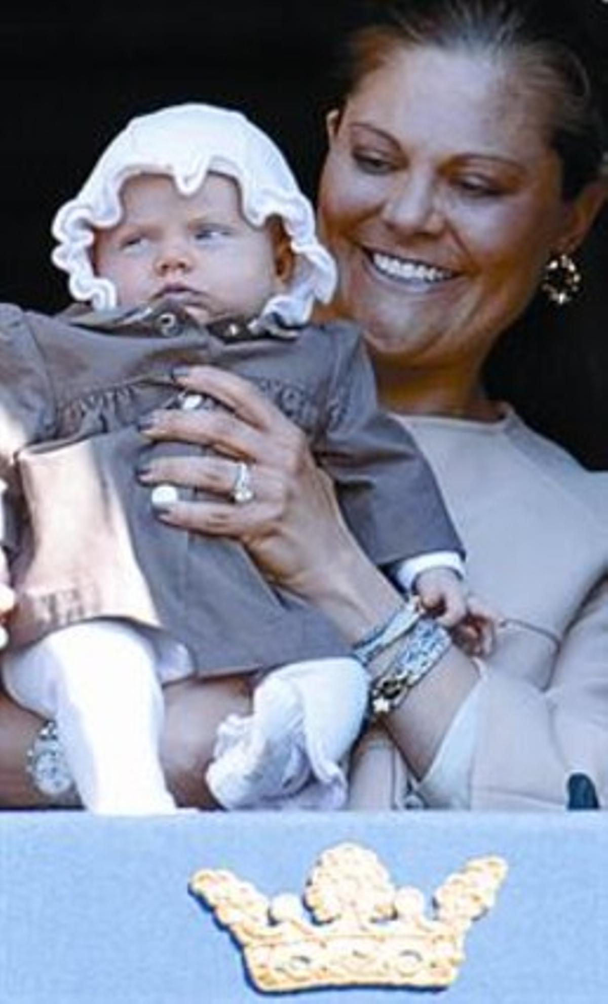 Estrena pública per a la princesa sueca Estelle
