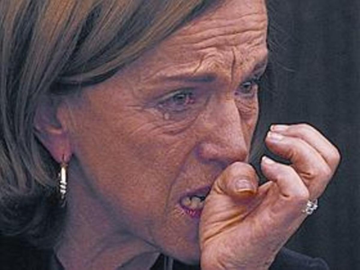 Ministra del rigor y de las lágrimas