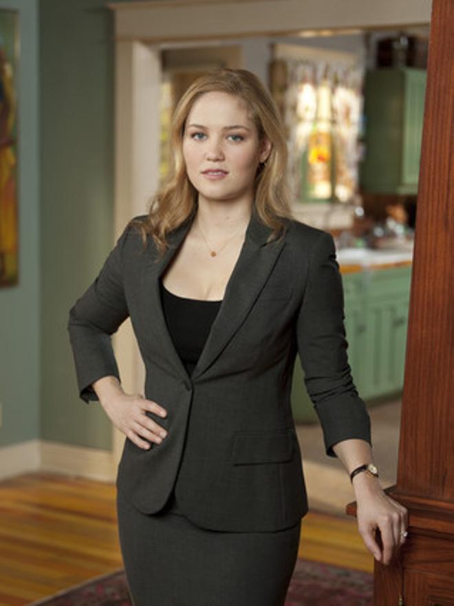 Erika Christensen,Julia Braverman-Graham en la serie 'Parenthood'.