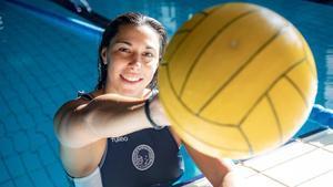 Irene González, este viernes en la piscina del CN Sabadell.