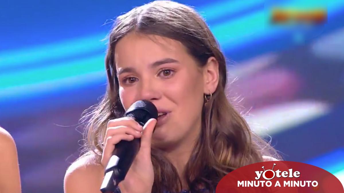 Índigo, ganadora de la primera edición de 'Idol Kids' en Telecinco