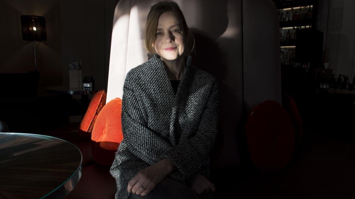 La escritora alemana Mariana Lenky.