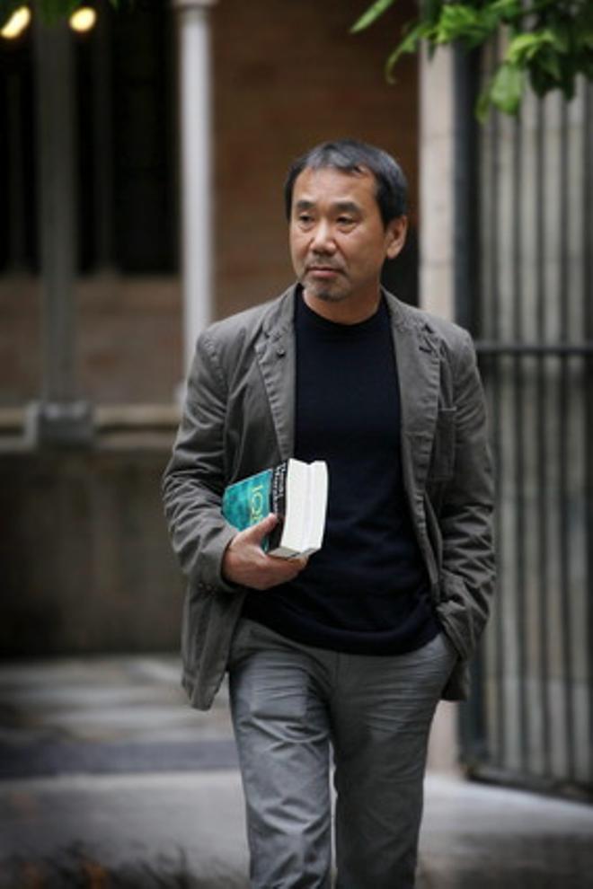 Haruki Murakami, en Barcelona.