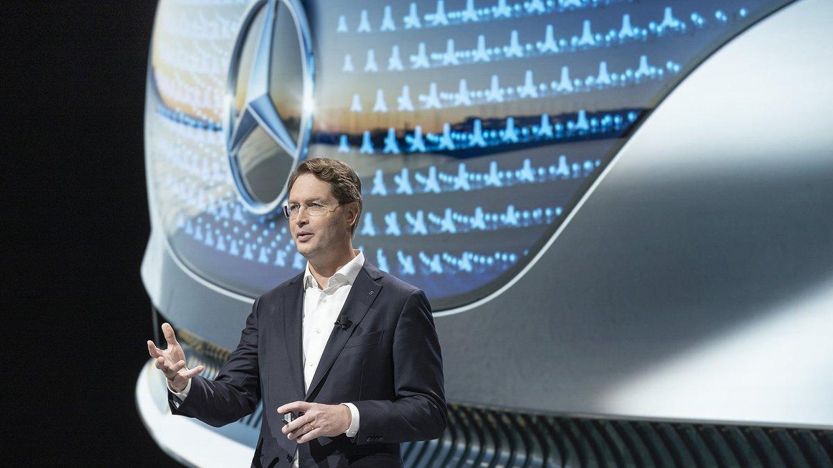 Ola Källenius, presidente del consejo de dirección deDaimleryMercedes-Benz