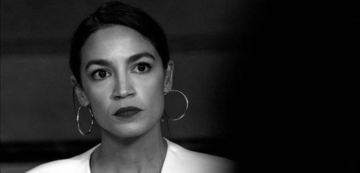 La senadora estadounidense Alexandria Ocasio-Cortez, rostro del Green New Deal.
