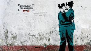 Ferrol investiga si una pintada és de Banksy