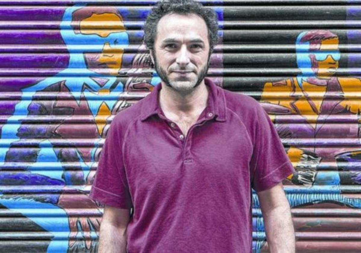 El músico Caïm Riba, que celebra 20 años de carrera en la sala Music Hall.