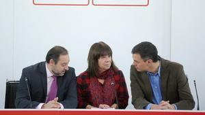 """El PSOE vol una """"cistella d'impostos"""" per pagar les pensions"""