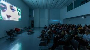 Aspecto de una proyección del Brain Film Festel año pasado.