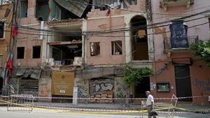 Beirut recompon els seus trossos