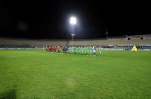Partido a puerta cerrada en Italia en 2005 entre el Livorno y el Espanyol.