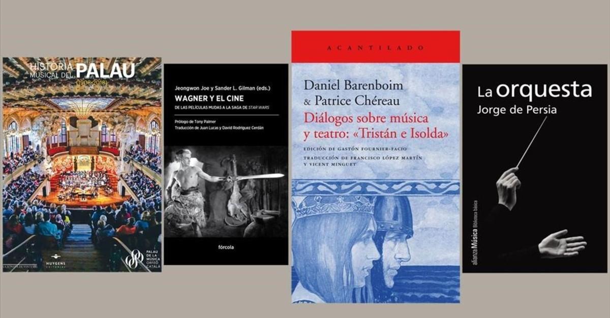 Varios libros de la 'minibiblioteca' de Sant Jordi.