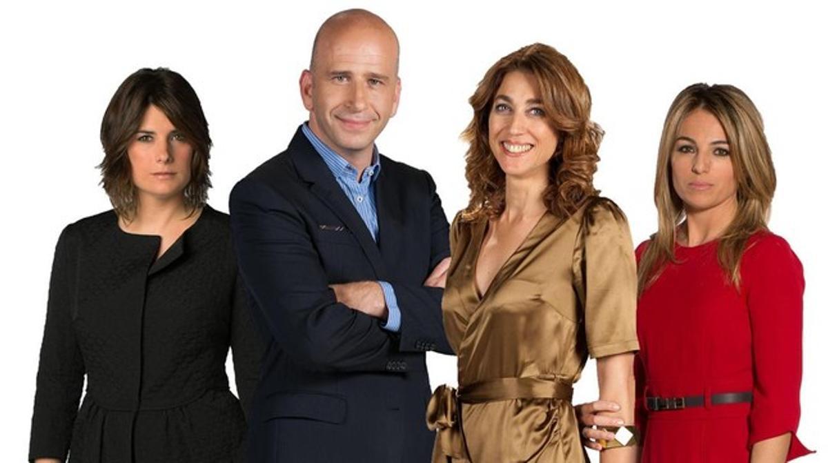 Ariadna Oltra, Xavi Coral, Helena Garcia Melero y Núria Solé.