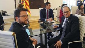 JxCat busca el desgast d'ERC en plena incertesa electoral