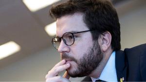 El 'vicepresident' de la Generalitat y titular del Departament deEconomia, Pere Aragonés.