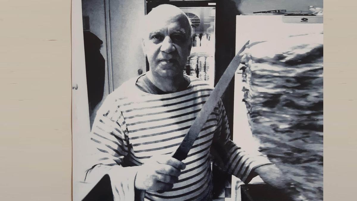 Salem Kahbbaz, chef y propietario del restaurante El Cuiner de Damasc.