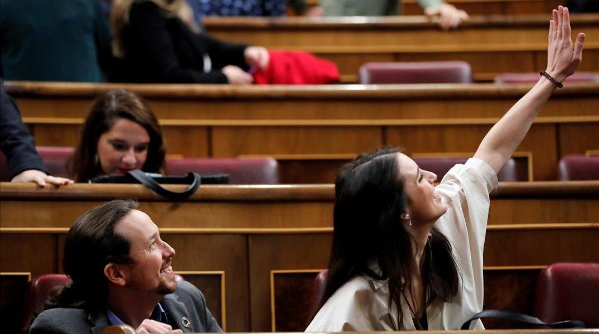 Unidas Podemos, nuevo rol en el Congreso