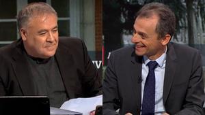 Ferreras descoloca a Pedro Duque con un zasca inesperado al ministro Castells
