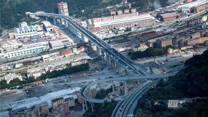 Gènova torna a estar unida dos anys després de l'ensorrament del pont