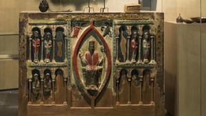 El Frontal Sant Hilari de Buira, una de las piezas más preciadas en litigio entre Aragón y Catalunya.