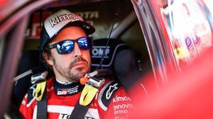 Fernando Alonso, en el último Dakar.