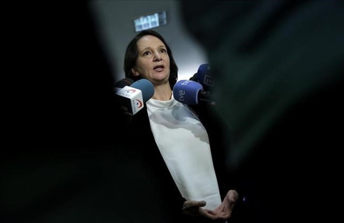 La cofundadora y diputada de Podemos, Carolina Bescansa.