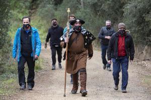 Celebración del peregrinaje del 'Pare Pelegrí' en Tossa 2021.