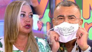 Baralla entre Jorge Javier i Belén Esteban pels toros: «No vull lluitar amb tu»
