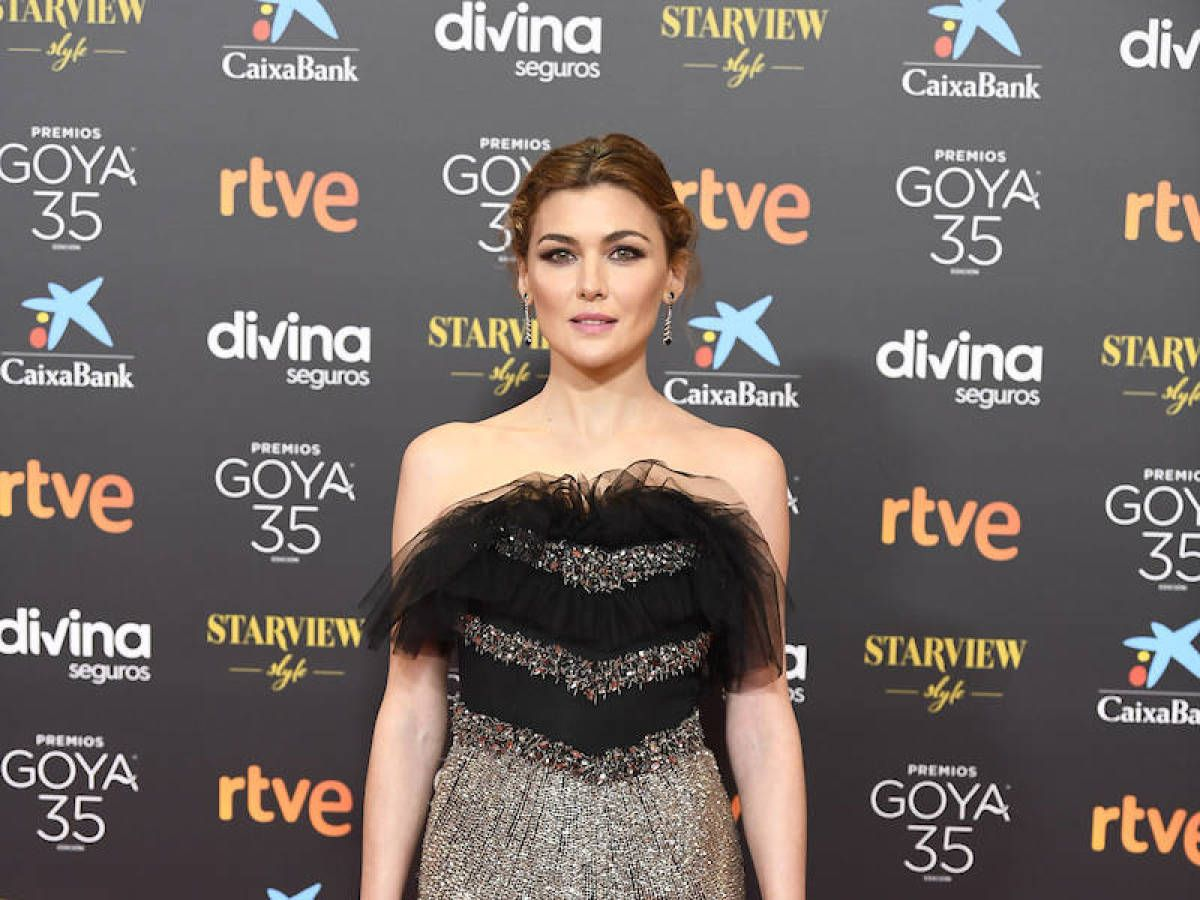 La actriz Marta Nieto, en los Premios Goya.
