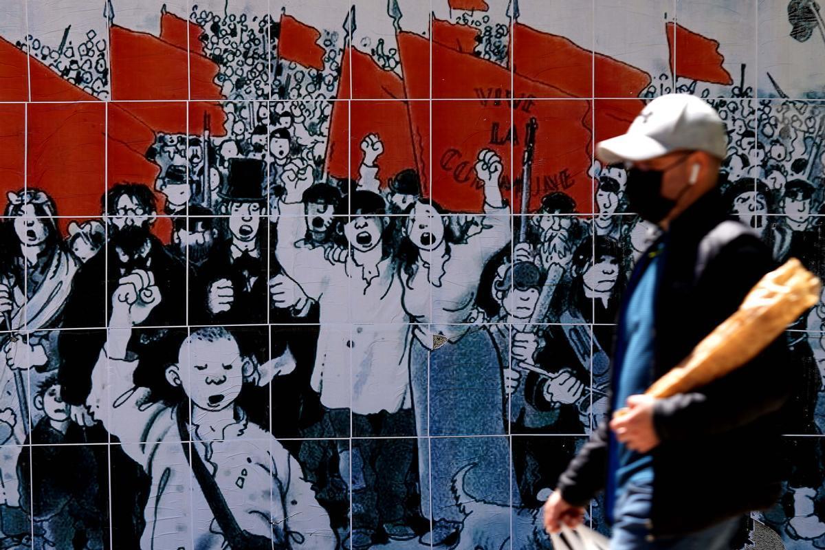 MADRID 04-05-2021 POLITICA ELECCIONES 4-Mambiente electoral en el barrio de Vallecas.Imagen DAVID CASTRO