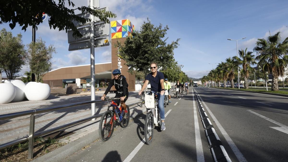 La xarxa europea de rutes cicloturistes Eurovel incorpora Viladecans