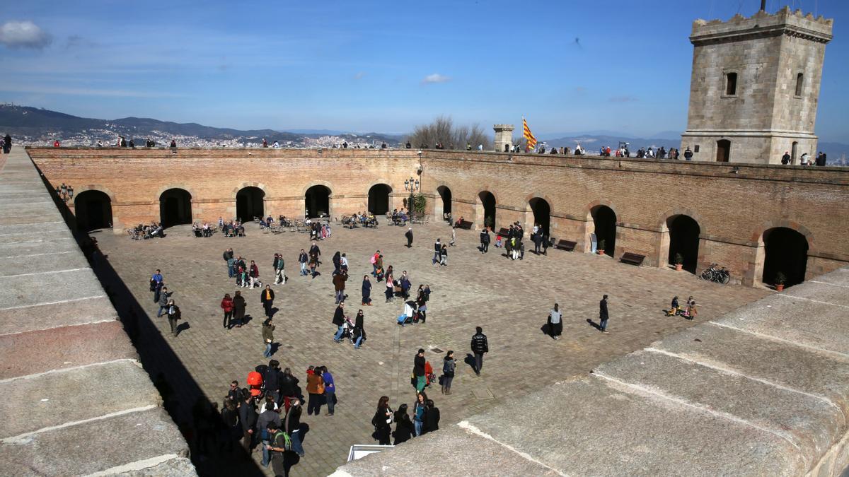 El Castillo de Montjuic.