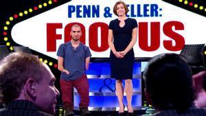 Mahdi Gilbert el programa de TV especializado en ilusionismo Penn & Teller: Fool Us.