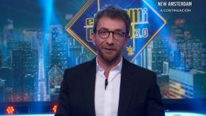 Pablo Motos en el plató de 'El hormiguero'.