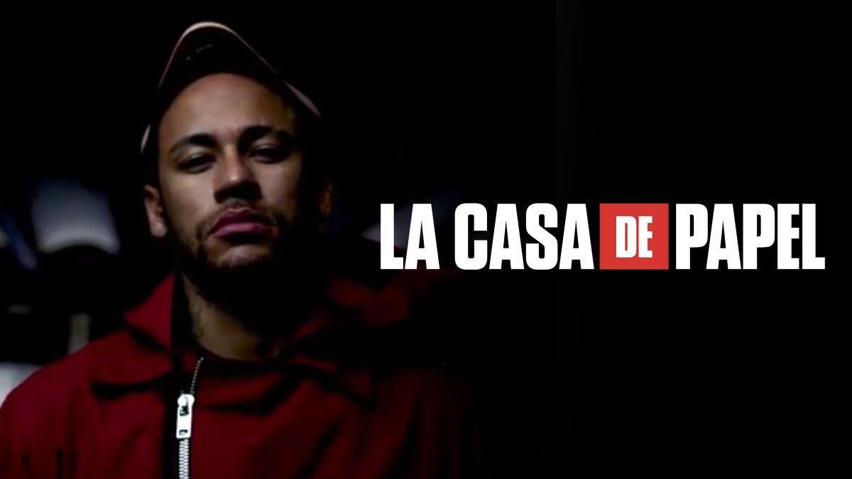Netflix libera las escenas de Neymar en 'La Casa de Papel' tras archivarse la causa en su contra por violación