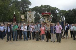 El año pasado, la Hermandad Virgen de la Luna celebró el 50 aniversario de la romería en Catalunya