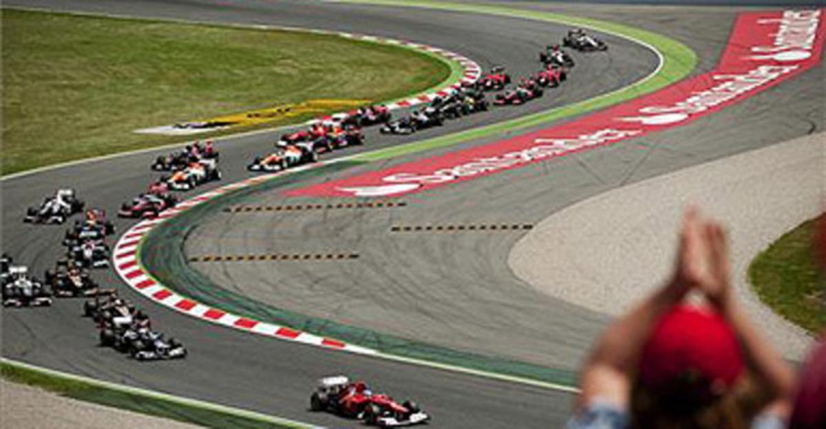 Circuit de Montmeló.