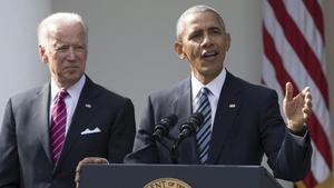 Obama oficialitza el seu recolzament a Biden en el duel amb Trump