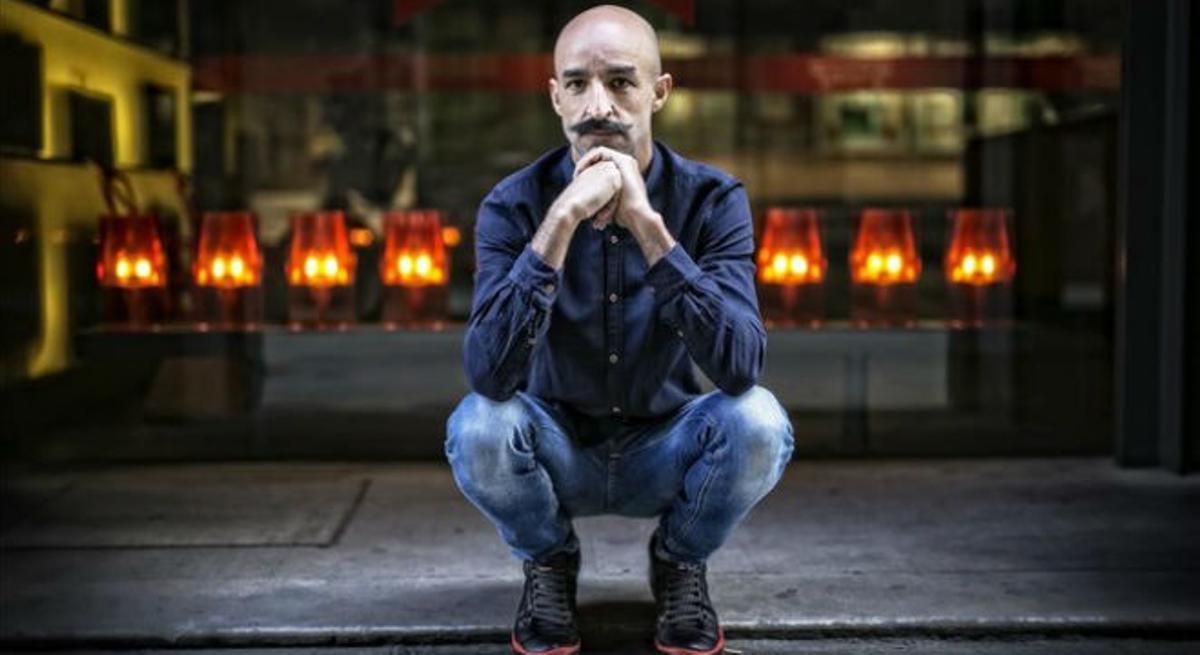 Jesús Carrasco, en Barcelona.