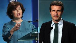 Santamaría y Casado tienden la mano a las candidaturas que han quedado fuera.