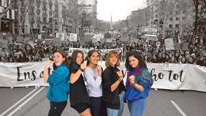 Generación 8-M: hablan las más jóvenes del movimiento