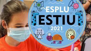 Imagen promocional de los casales de verano de Esplugues englobados en 'Espluestiu 2021'