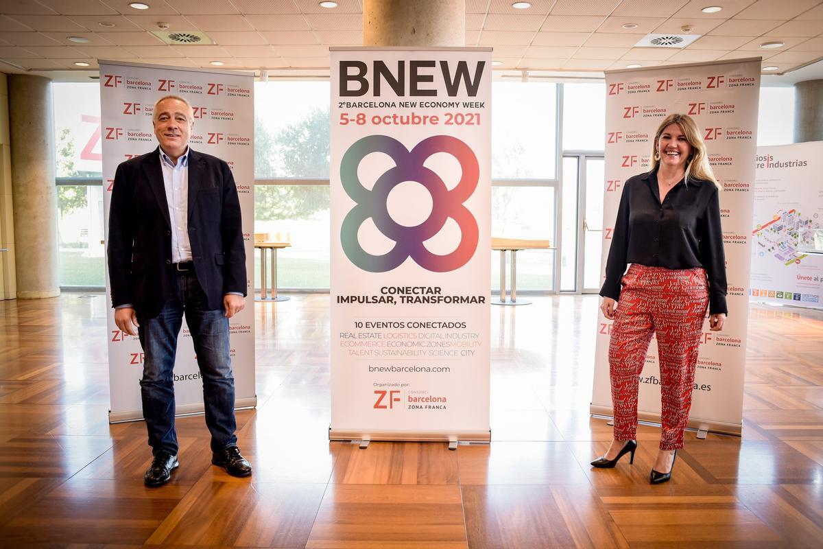 Pere Navarro y Blanca Sorigué presentan la segunda edición del BNEW