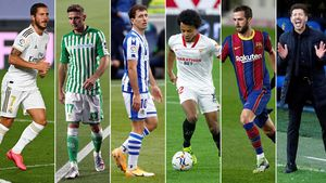 Hazard, Joaquín, Oyarzabal, Koundé, Pjanic y Simeone pasaron el covid.