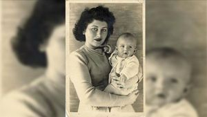 Inge, con su hija Beatrice, abuela de la periodista Svenja O'Donnell.