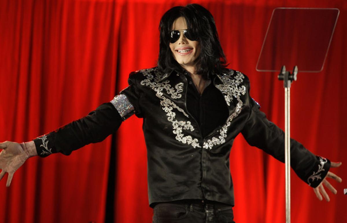 Michael Jackson, en marzo del 2009, en Londres.