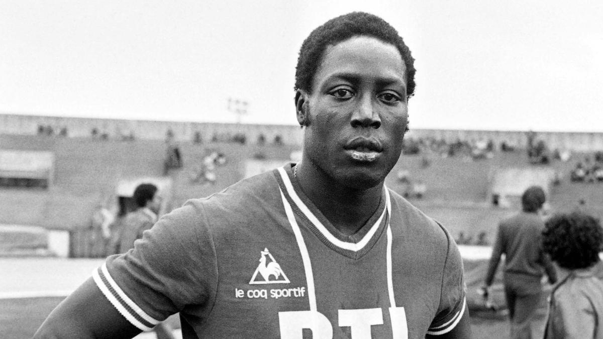 Jean-Pierre Adams, en 1977.
