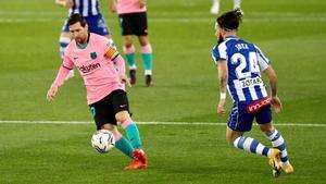 Messi quiere seguir con opciones en la Liga.